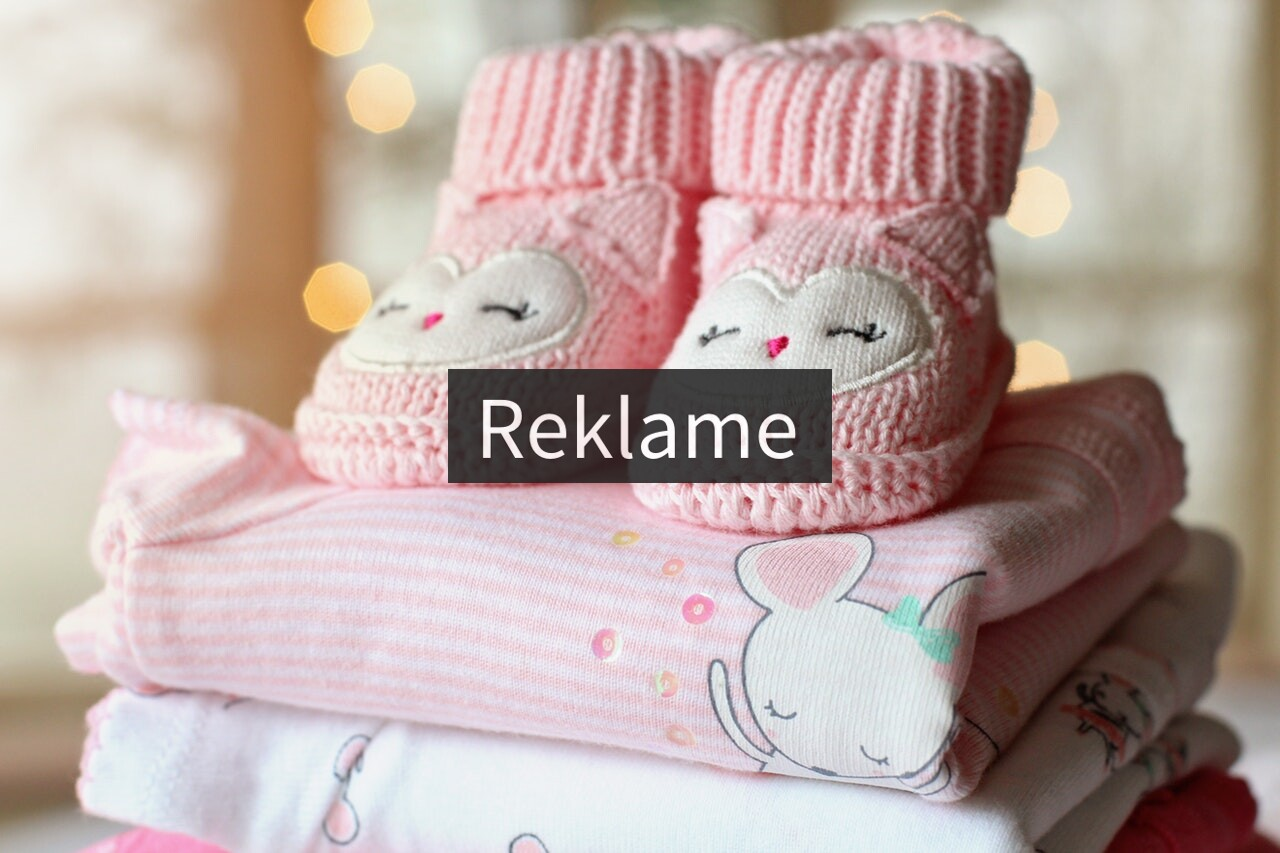 lyserødt babytøj